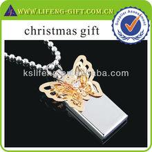 Custom usb flash drive, Jewelry USB Flash Drive for christmas gift