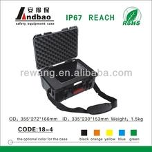 colored hard plastic waterproof equipment case