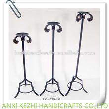 anqitue metal floor standing candelabra