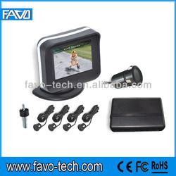 2.4 inch digital LCD Video parking sensor system