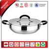 20 CM Silicone Handle Dishwasher Safe Stainless Steel 20CM Frying Pan
