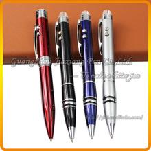 JD-C401 hot-selling metal logo promotion light laser pointer pen