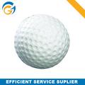 Pelotitas deportivas de golf Pu en blanco y verde personalizables.