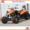 Race kart Go kart ATV 200cc Trike 3 wheels 250cc engine Trike Racing ATV