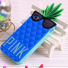 Hot Selling 3d Pineapple Cell Phone Cases for iPhone 5 5s 6 Phone Cases