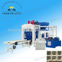 qt6-15 Concrete Block Making Machine Construction Machinery Equipment