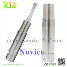 stainless steel Full Mechanical mod NOVICE New Style dry herbs Novice mod from KSD