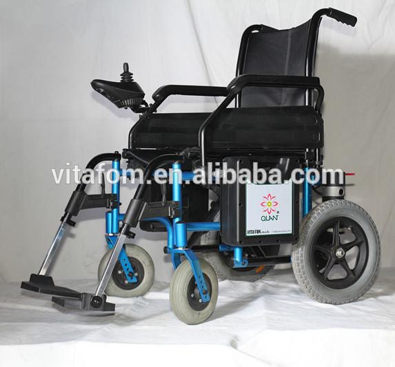 Light Weight Folding Power Wheelchair View Folding