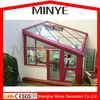Best sunrooms glass houses/seller sunroom with laminated glass aluminium sunrooms