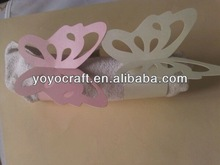 high quality laser cut butterfly napkin rings from YOYO crafts