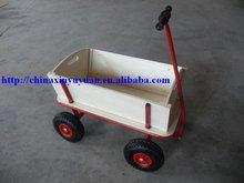 good quality wooden push wagon