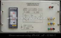 NUMERICAL OVER CURRENT RELAY TEST KIT to study over current relay operation
