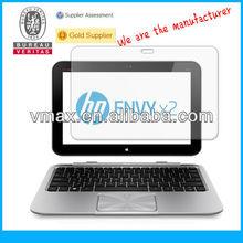 HP laptop screen protector for HP SlateBook x2 oem/odm (Anti-Fingerprint)