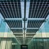 Bluesun top quality transparent thin film solar panel for customized BIPV