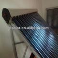 Energía solar calentadores de agua / 70 mm tubo de calor de tubo de vacío colector solar / dividir a presión
