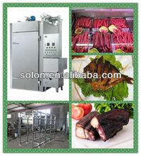 Zhengzhou Industrial stainless steel fish smoke house/smokehouse oven/sausage smoker