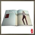 Impreso ropa modelo folletos/catálogo de la empresa de impresión de boucher