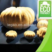 Halloween polystyrene pumpkins