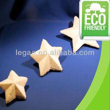 DIY craft polyfoam star