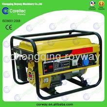 2KW mini Diesel Generator for Sale, low oil fuel consumption generator sets
