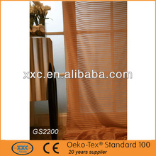 High quality sheer different styles of curtains