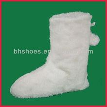 BH095374 super soft fleece of plush boot