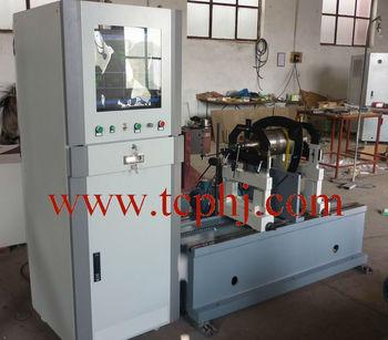 electric motors rotor balancing machine