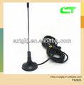 De vhf uhf digital dvb-t antena activa del coche para televisión de alta definición de tv reproductor de dvd caja