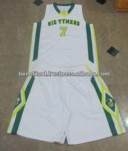 Custom basketball uniform Printed basketball jersey design