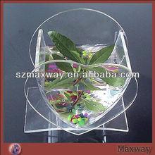 Durable clear acrylic fish bowl
