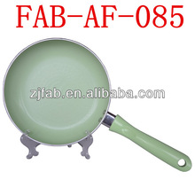 Healthy Discount Home Use Ceramic Coated Fry Pan With Net Design