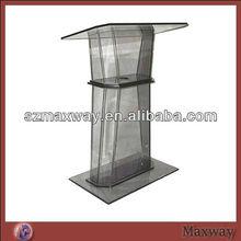Acrylic clear church plastic pulpit