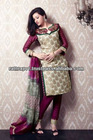 Gorgeous Long Pakistani Womens Modern New Designs Suits 2013