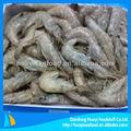 pescados y mariscos salvaje cauaght camarón congelado