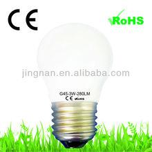 Energy saving and high lumen e27 g45 led bulb light led lamps