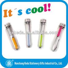 2015 hot selling mini ball pen with eva grip mini eva pen