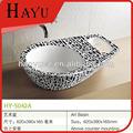 Hy-5042a elegante design pequeno tamanho da bacia de lavanderia