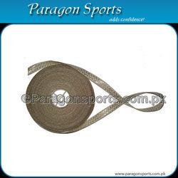 Gold Metallic Wire & Black Silk Stripes Braid Lace