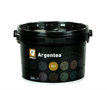 Argentea - Italian silk silvered decorative wall paint for interior