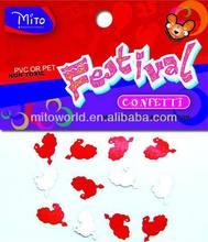 MTLP-PA002 thanksgiving day decoration turkey confetti