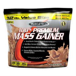 MuscleTech 100% Premium Mass Gainer, 5.44kg; 12lbs; 39,08$