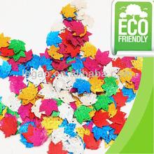 Fancy PVC Chrismas confetti for decoration