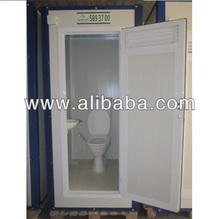 Europen Style Portable Toilet Cabin
