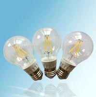 360 degree G60 COB filament LED bulb 4W 220-240V