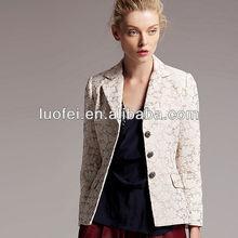 high quality brocade flower patterned elegant fashion women vintage jacket