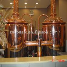 200L mini red copper brewery equipment