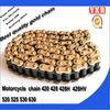 Motorcycle parts chain sprocket,China manufacturer 530 motorcycle chain,new product 428 motorcycle chain