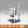 cadeira de flexão alternada assento e encosto de máquina de teste