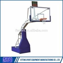FIBA Standard Portable Basketball Stand(remote control)