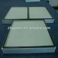H10 ~ H14 MINI plisado filtro HEPA para sala limpia ; HEPA filtro para laboratorio